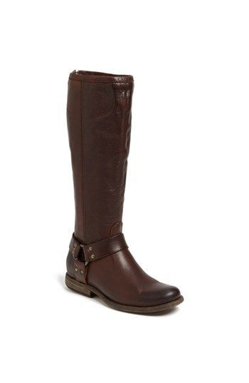 Frye 'Phillip' Harness Tall Boot best brand of boots out there! Comfortable  and typically they run a half size bigger so order down a half size.