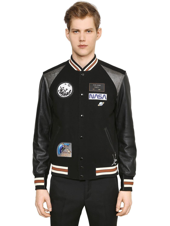 COACH . coach cloth Wool bomber jacket, Jackets