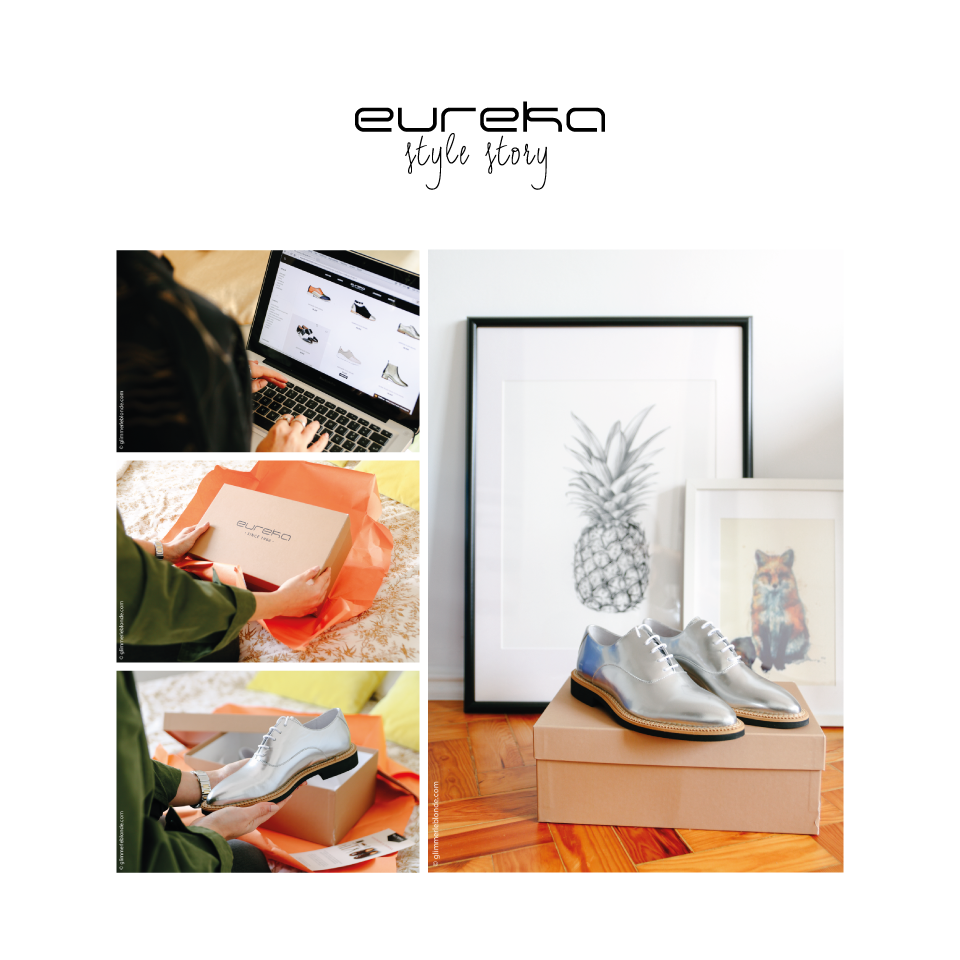 Style story with GLIMMER LE BLONDE! #eurekashoes #eurekalovers #inspiration #ss16 #blended #glimmerleblonde