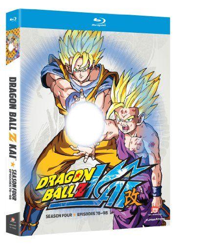 Dragon Ball Z Kai Season 4 Blu Ray Dragon Ball Z Dragon Ball Anime Dragon Ball
