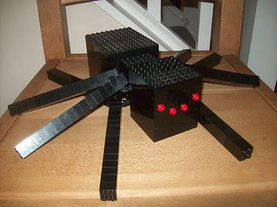 Lego Minecraft Custom Built Spider with Instructions   eBay