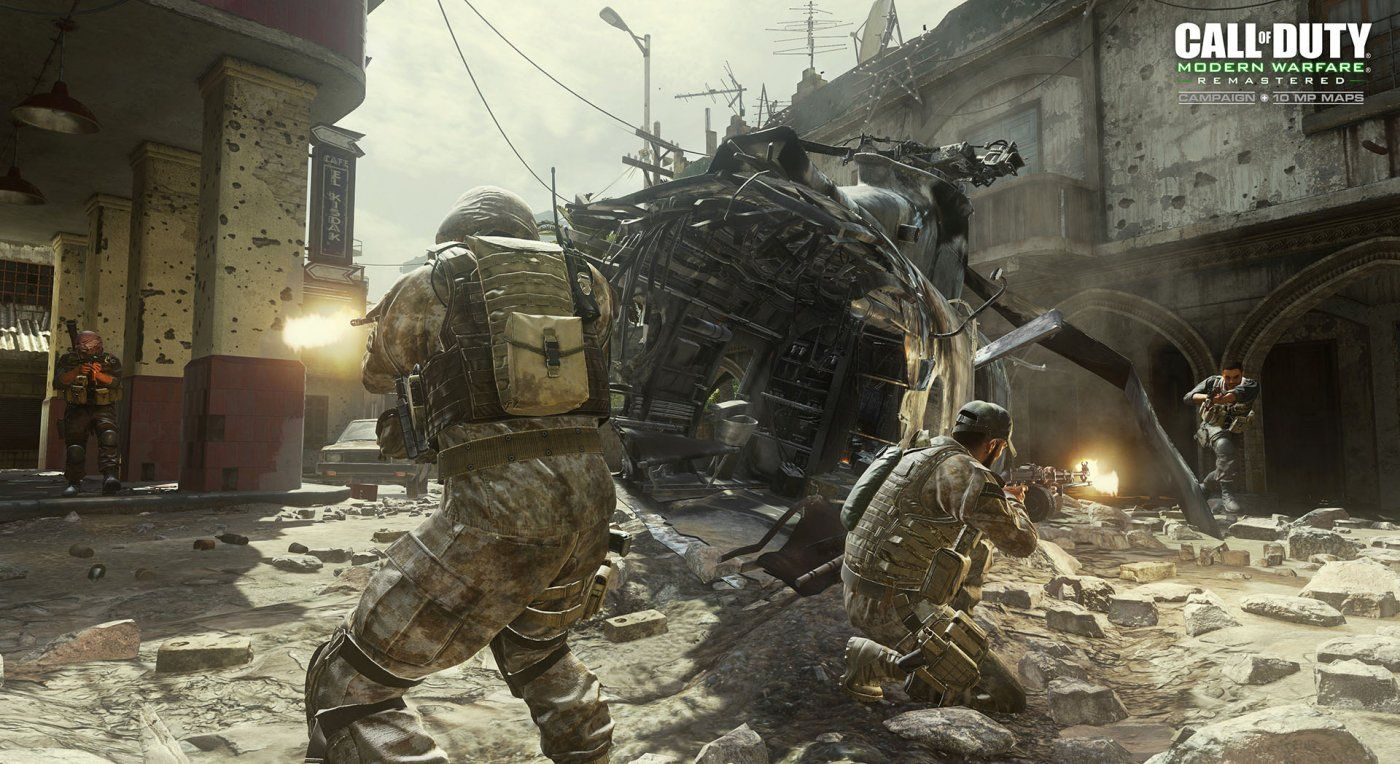 Call Of Duty Modern Warfare Remastered Will Have Dedicated Servers And Total Of Modern Warfare Call Of Duty Warfare