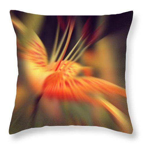 Margarita Buslaeva Photograph - The Blossoming Lily 2 by Margarita Buslaeva #MargaritaBuslaevaFineArtPhotography #BlossomingLily #Flovers #HomeDecor #Pillow