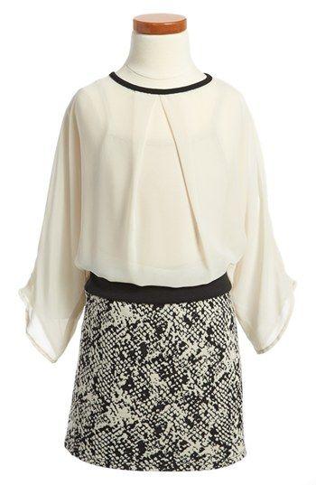Sally Miller 'Brenna' Dress (Little Girls & Big Girls) | Nordstrom #sallymiller