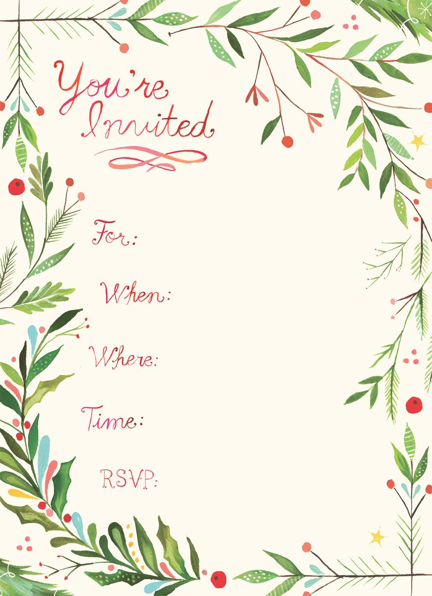 you're invited Google Search Invitations, Christmas