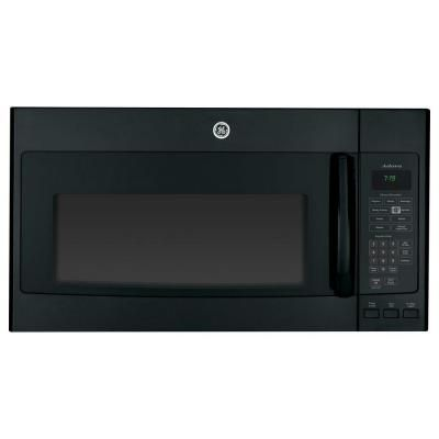 Ge Adora 1 9 Cu Ft Over The Range Microwave In Black With