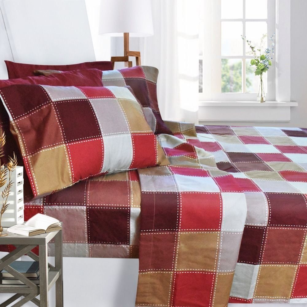 Printed design thread count sheet set products pinterest