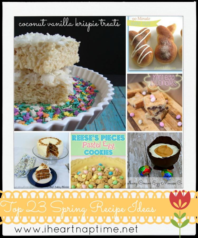 Sundae Scoop Top 23 Spring Recipe Ideas I Heart Nap Time | I Heart Nap Time - Easy recipes, DIY crafts, Homemaking