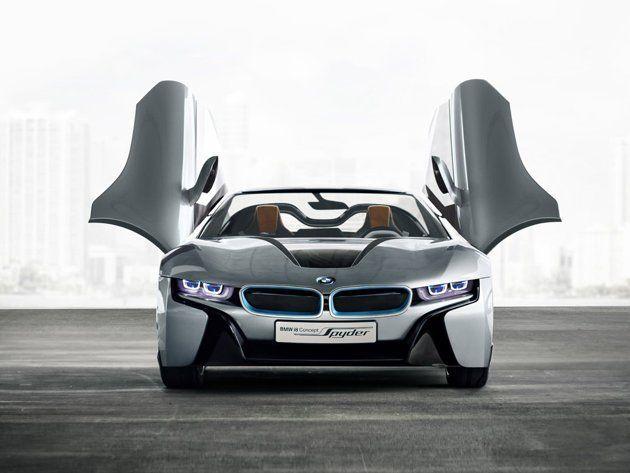 Bmw I8 Concept Spyder Bmw I8 Bmw Bmw Concept
