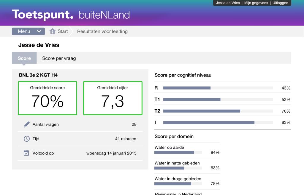 Toetspunt - Noordhoff Uitgevers -rtti - digitaal toetsen - meer info