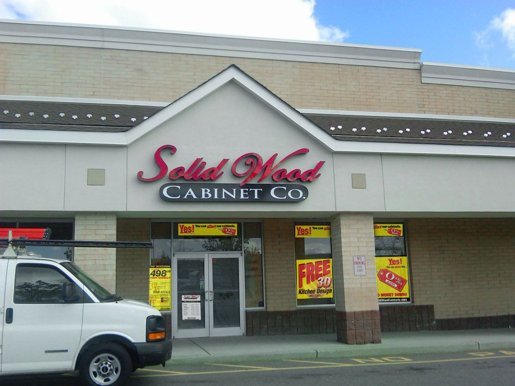 The Solid Wood Cabinets Company Showroom In Woodbridge, NJ! Crosspointe  Town Square 33 Woodbridge Center Dr. Woodbridge, NJ 07095 267 587 0605