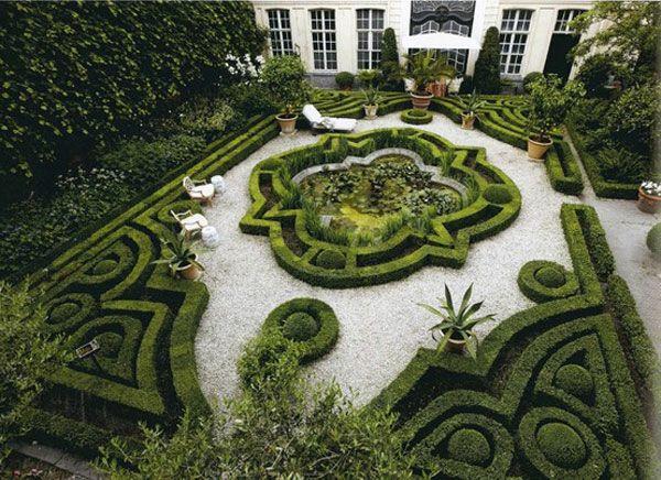herrenhaus garten mit interessanten grnen formen gartengestaltung 60 fantastische garten ideen - Fantastisch Gartengestaltungsideen