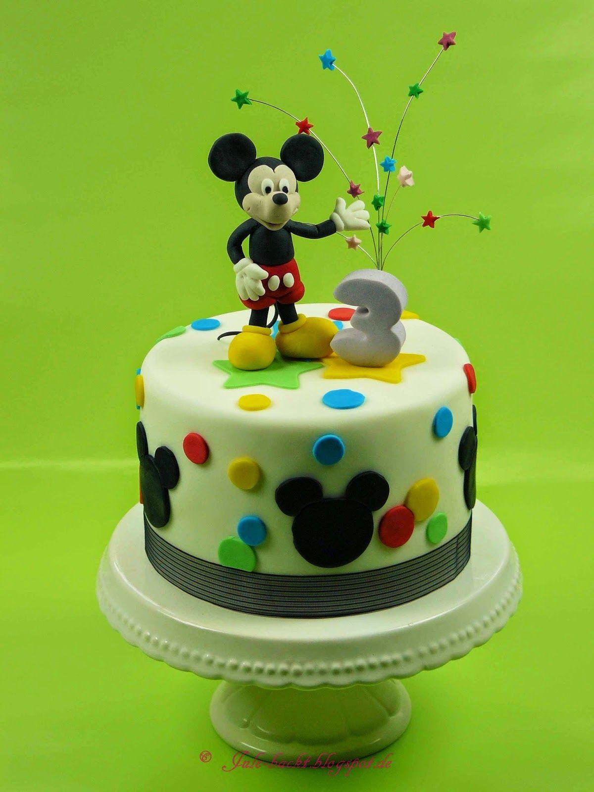 Mickey Maus Torte Geburtstag