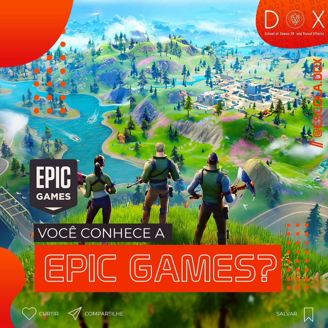 A Epic Games, Inc., anteriormente chamada de Potomac ...