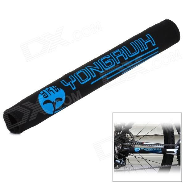 Yongruih HLT008 Water Resistant Bicycle Chain Stay Protector / Guard - Blue   Black Price: $2.50