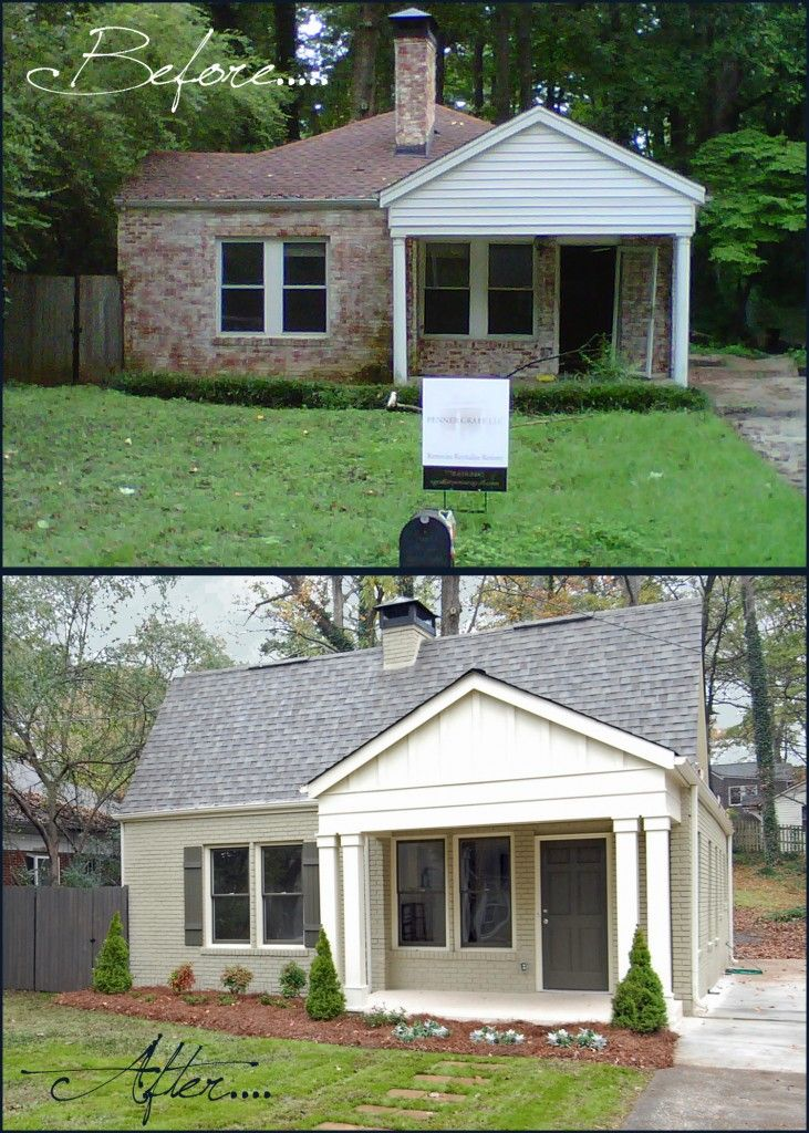 before and after favorite before afters house. Black Bedroom Furniture Sets. Home Design Ideas