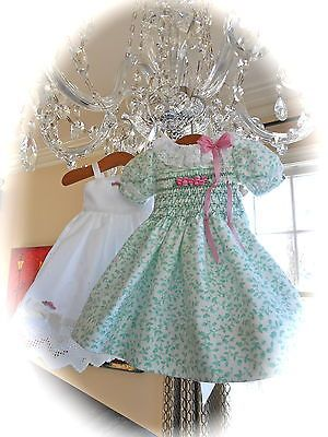NEW Dianna Effner Little Darlings Exquisite Hand Smocked, Embroidered Dress/Slip