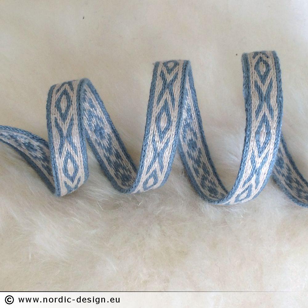 Brickvävt band, XO, 240 cm