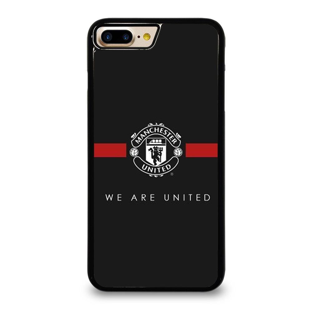 MANCHESTER UNITED BLACK iPhone 7 / 8 Plus Case Cover - Casesummer ...