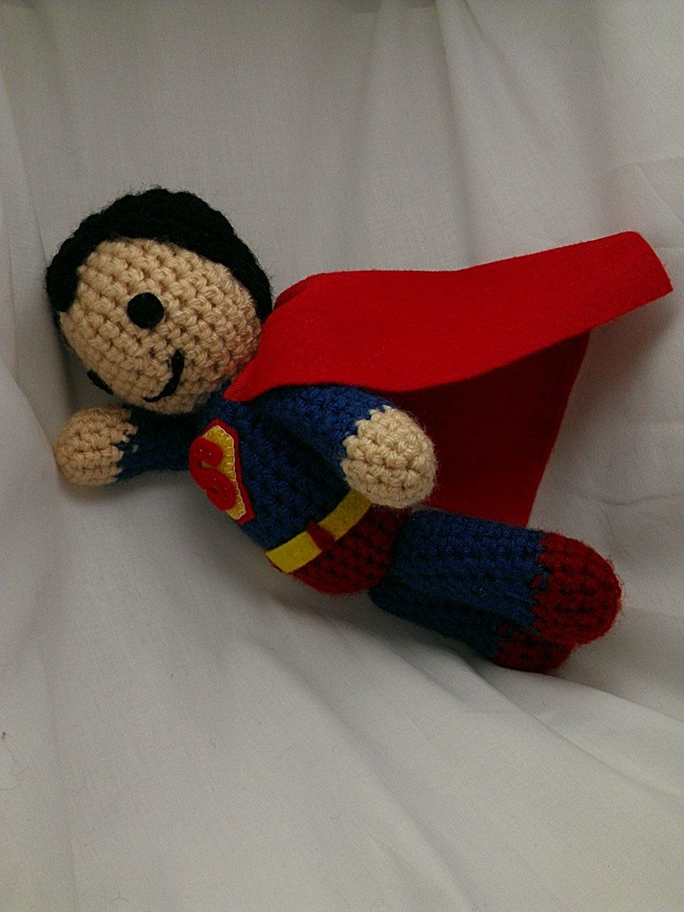 Superman Crocheted Doll Pattern Is No Longer On The Site