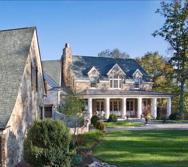 Exterior Ideas. Traditional Home Exteriors. #HomeExterior
