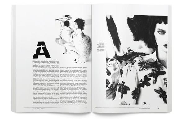 FAT Magazine on Editorial Design Served