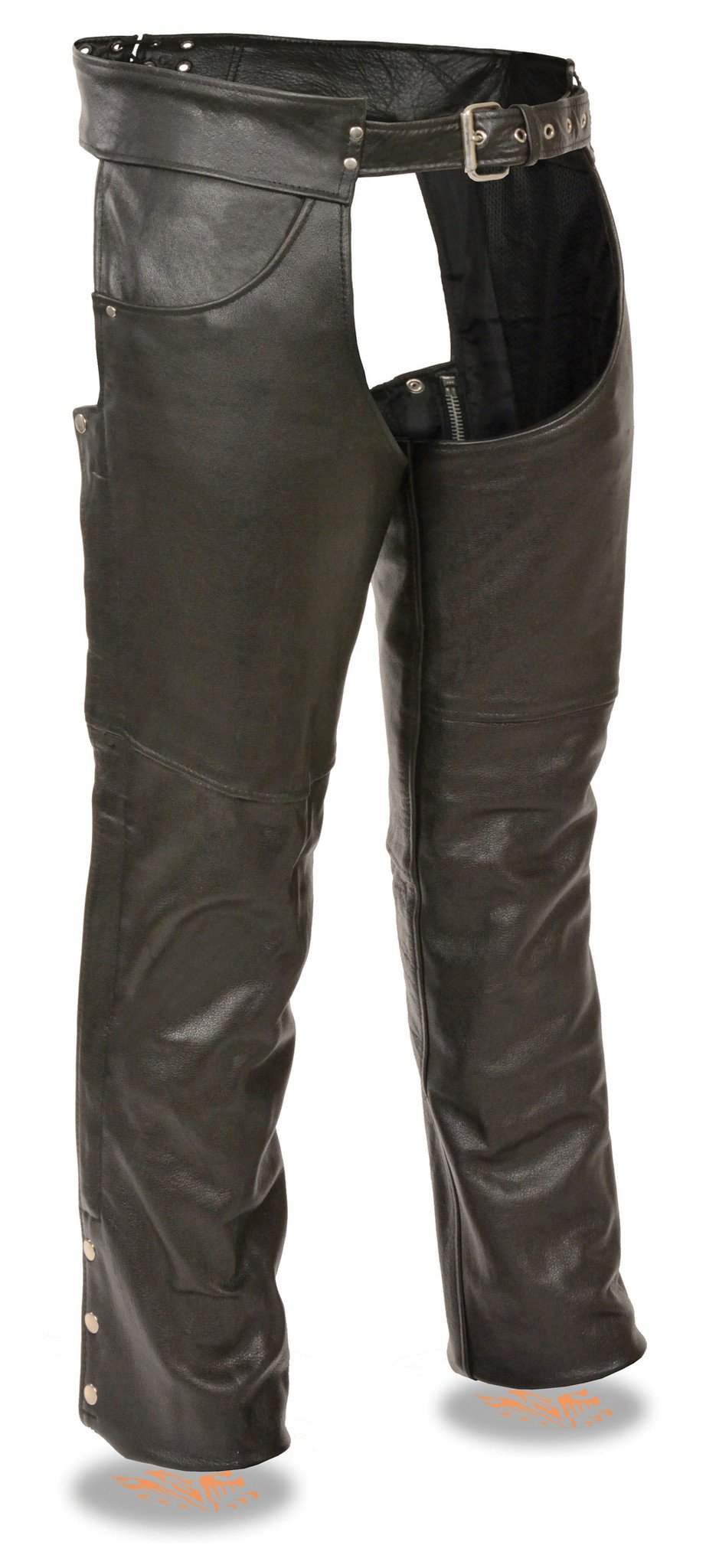 Men S Motorcycle Classic Tall Leather Chap With Jean Pockets 4 Longer Tall Riders Mens Jeans Pockets Jean Pockets Mens Leather Pants