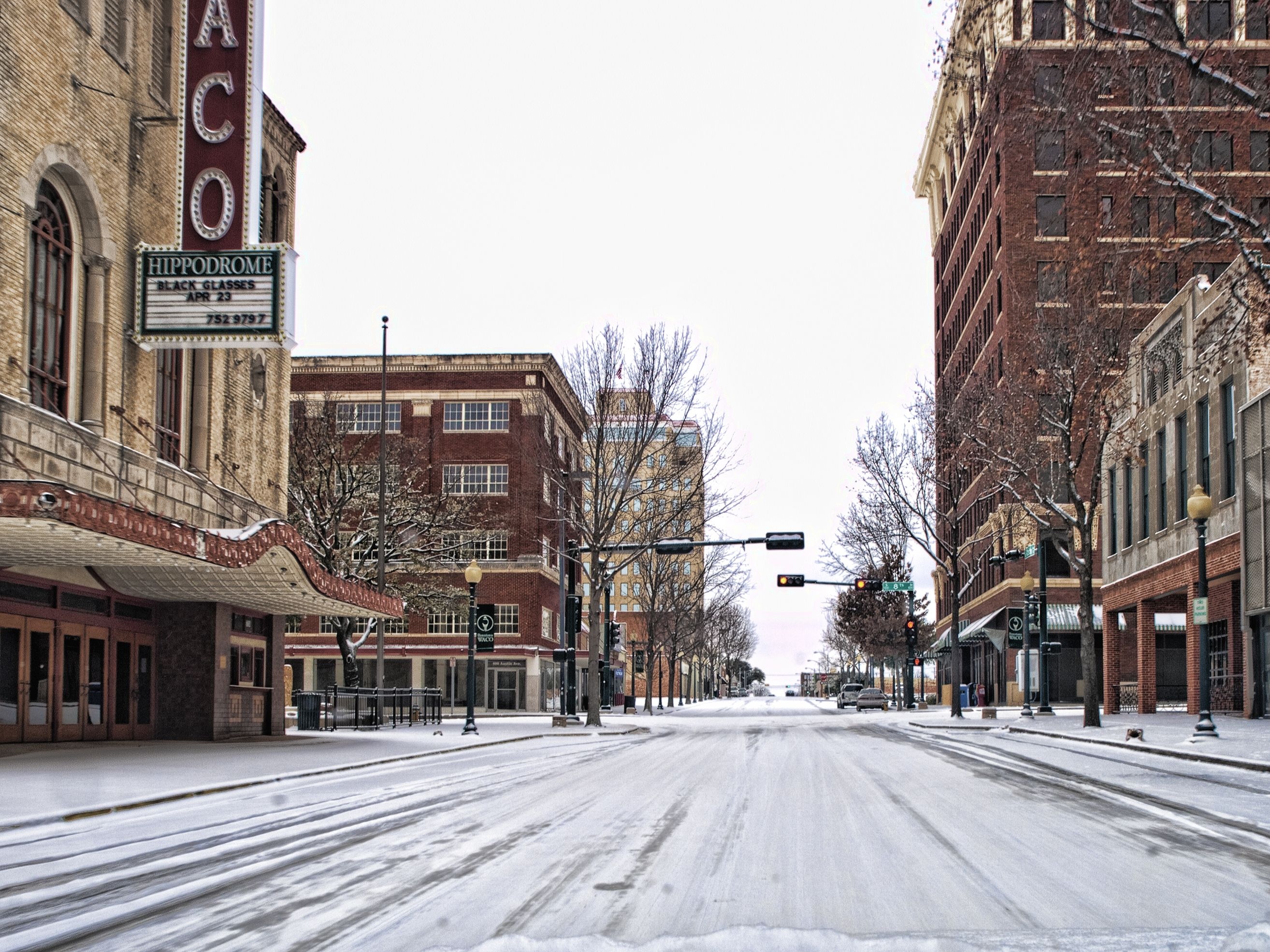Downtown Waco In The Snow Hippodrome Theater Ferry Building San Francisco Ferry Building Hometown