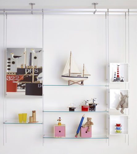 Ideas For Suspended Shelves Shelves Display Shelves Glass