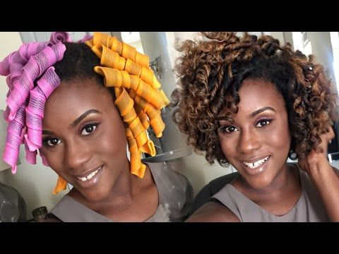 The Best Tutorials Ilrating How To Install Curlformers On Natural Hair And Multiple Textures