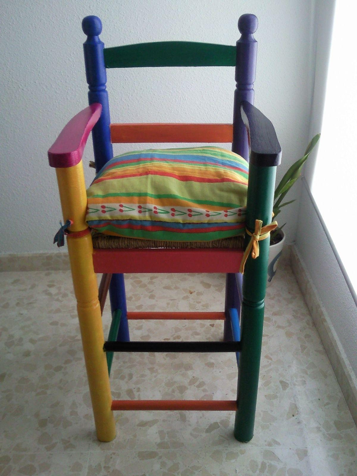 silla pintada | cillas | Pinterest | Sillas, Pintar y Manualidades ...
