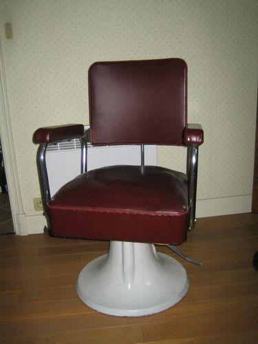 Fauteuil de coiffeur annee 50 les ann es 50 60 pinterest coiffeur an - Fauteuil coiffeur vintage ...