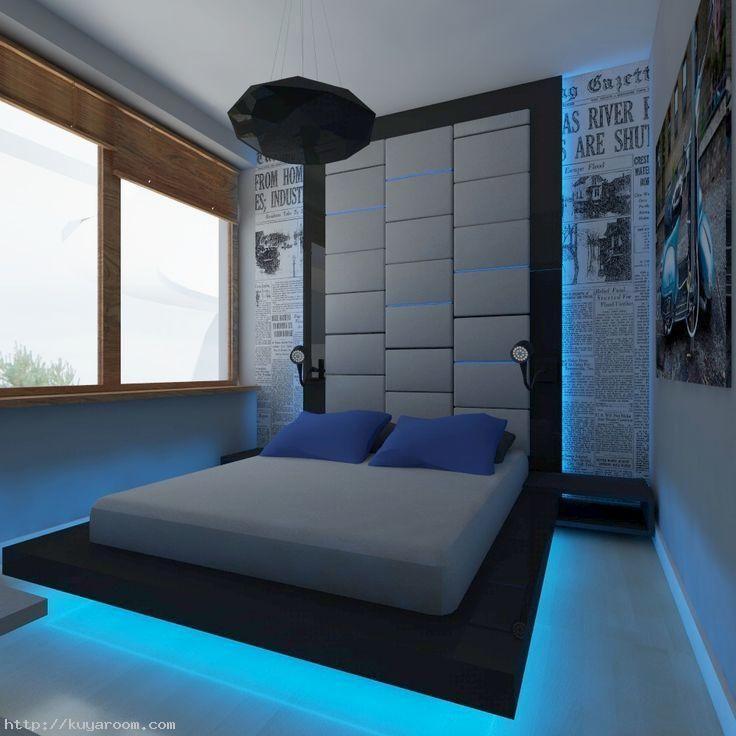 Bedroom Ideas For Young Adults Men R1ik7qn5r Jpg 736 736 Small Bedroom Modern Bedroom Modern Room
