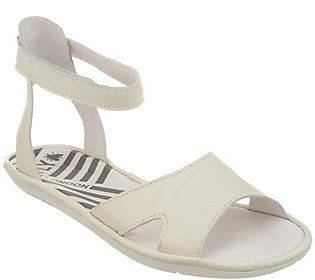 970cbb0bdfd Fly London Leather Ankle Strap Sandals - Mafi
