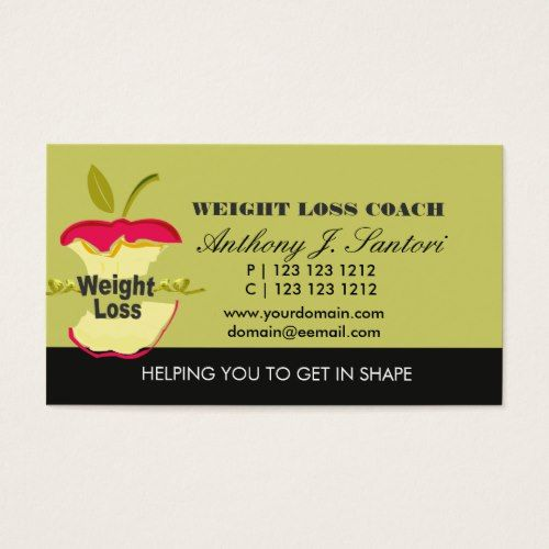 Weight loss business cards roho4senses weight loss business cards colourmoves