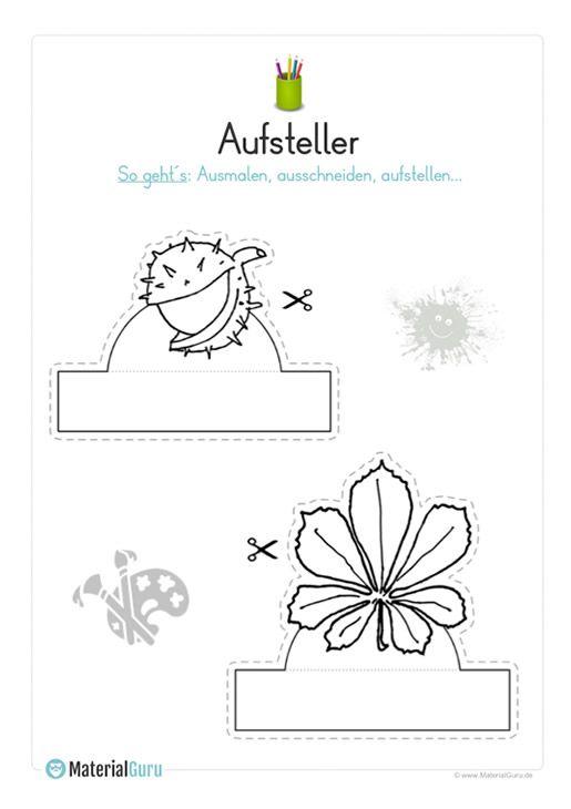 Herbst - Kostenlose Arbeitsblätter | Kostenlose arbeitsblätter