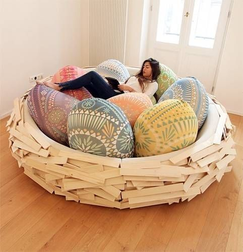 Couch Ideas unusual couch ideas - egg couch | beautiful living | pinterest