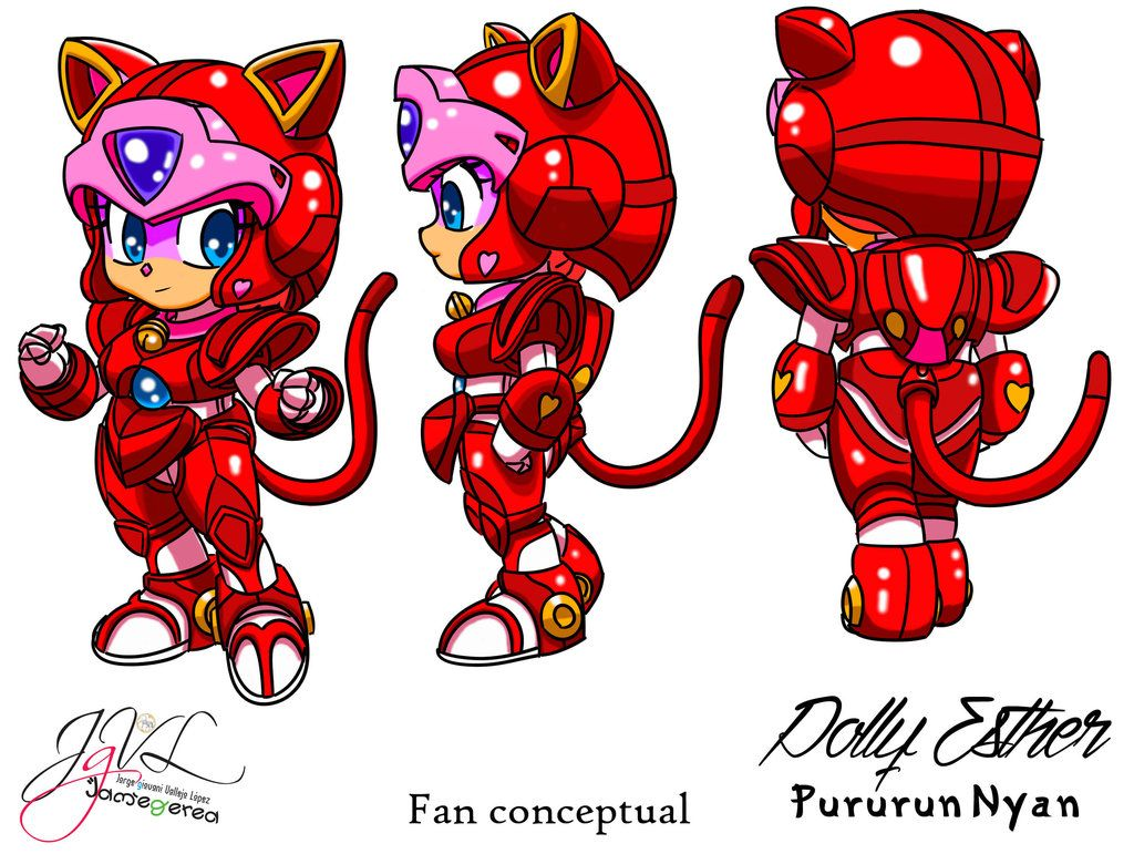PururunNyan Polly Esther by