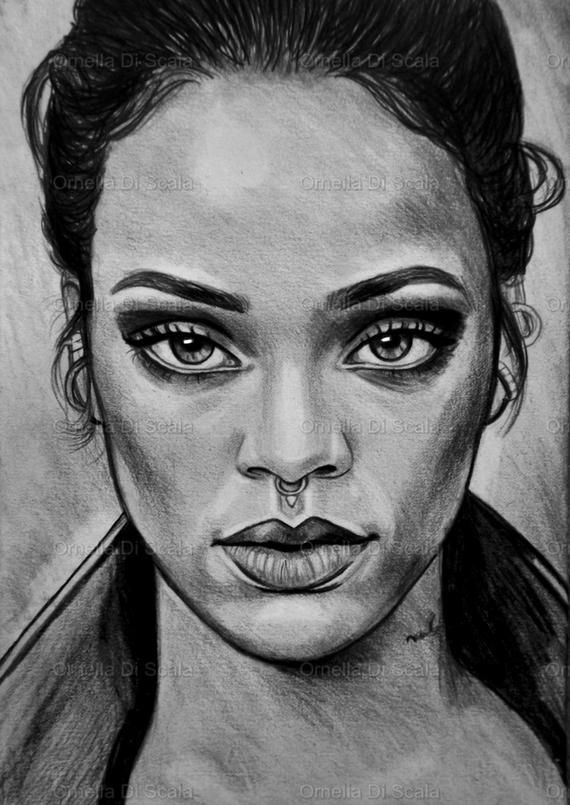 Pencil on paper portrait on commission paper 82 x 118 inch 95 x13 inch  totally hand drawing similarity guarantee I have 30 years of experience like a portraitist the adv...