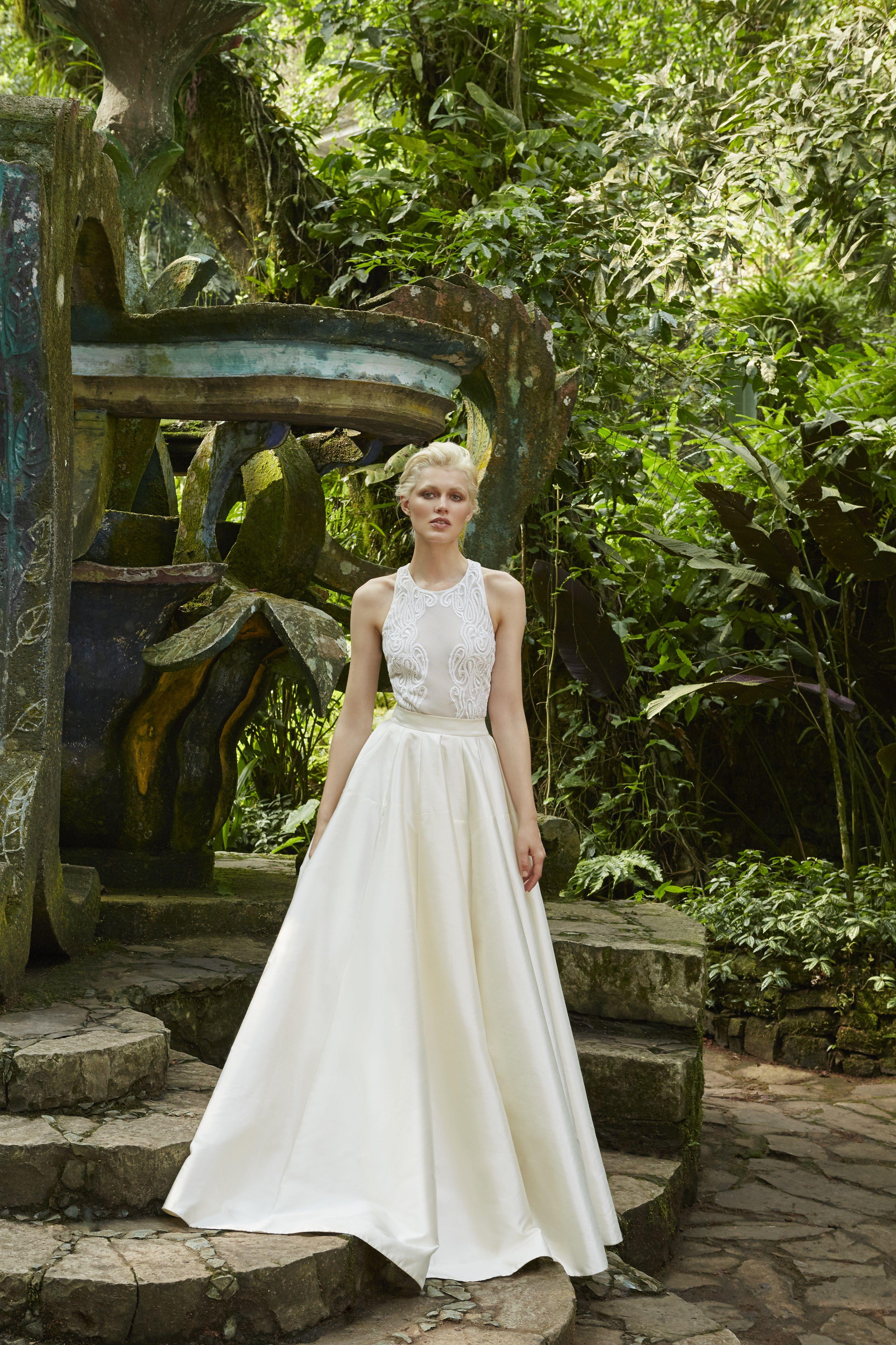 Alia bastamam wedding dress  The intricately handembroidered Art Nouveau style Skye bodice and