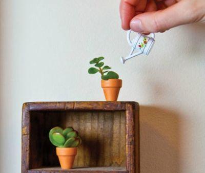 Diy Teeny Tiny House Plants She S Crafty Pinterest Diys