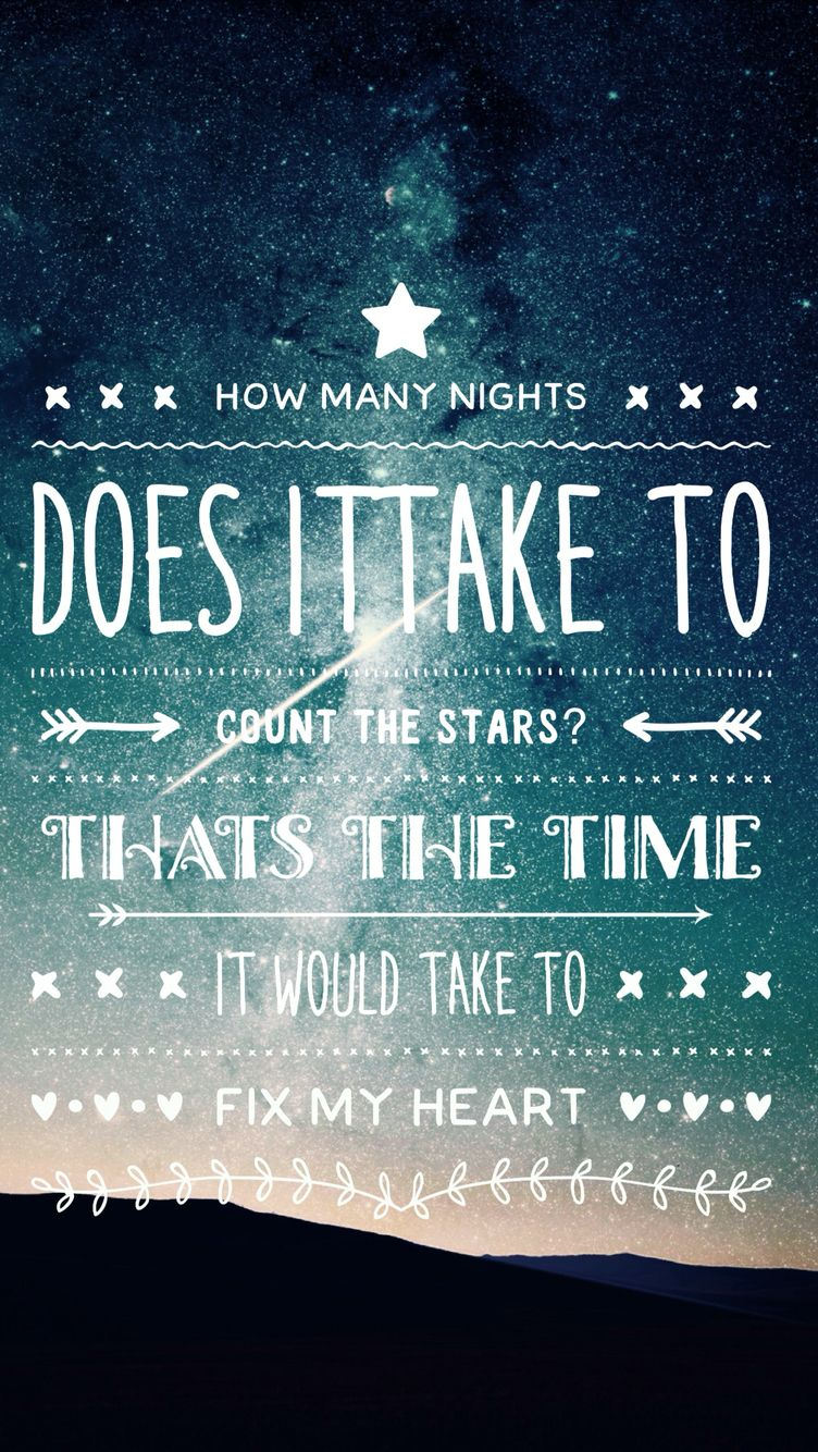 Infinity Lyrics One Direction