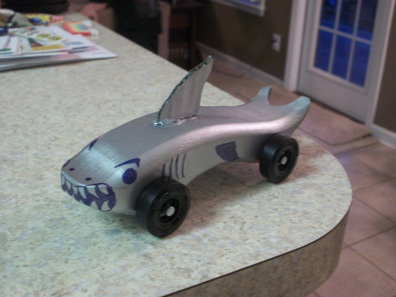 Awana Grand Prix Shark Car | AWANA Grand Prix Cars | Pinterest
