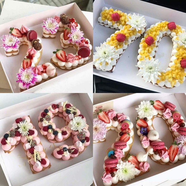 Decorated Number Cakes O Maude And Hermione On Pinterest Biscuits Sucres New Cake