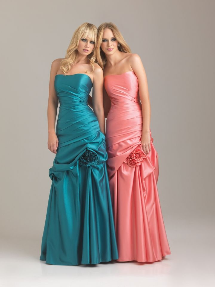 Available in over 30 Colours - A more Formal Bridesmaid Gown!