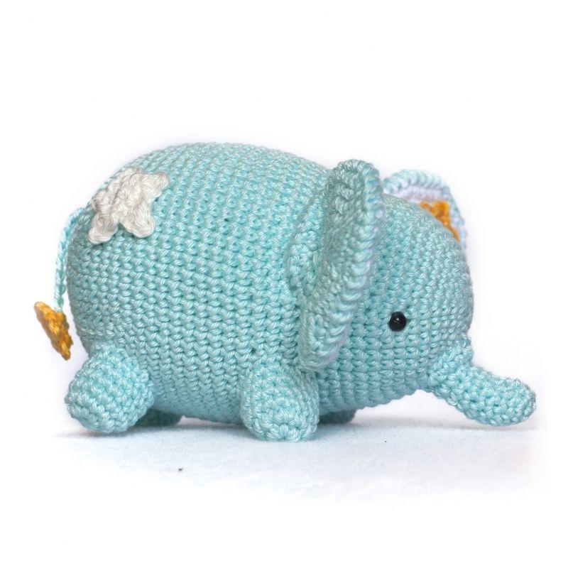 Love and Star Elephant amigurumi pattern - Amigurumipatterns.net