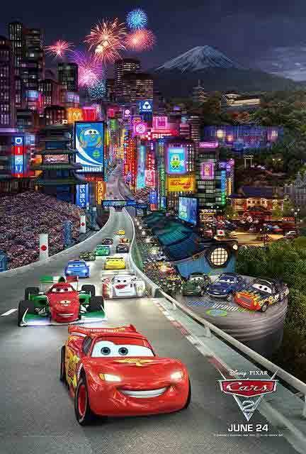 Cars 2 film saetta mcqueen disney pixar e cartoni disney