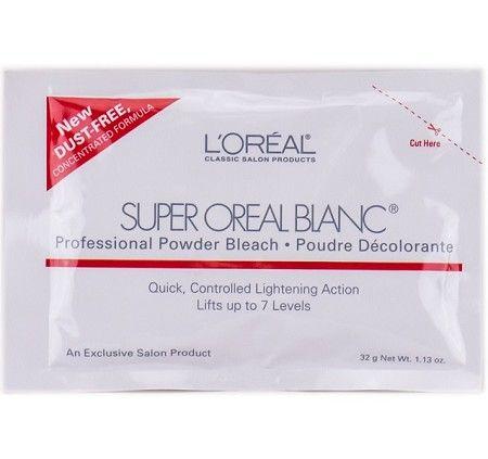 Loreal Super Oreal Blanc Professional Powder Bleach 1.13 oz ...