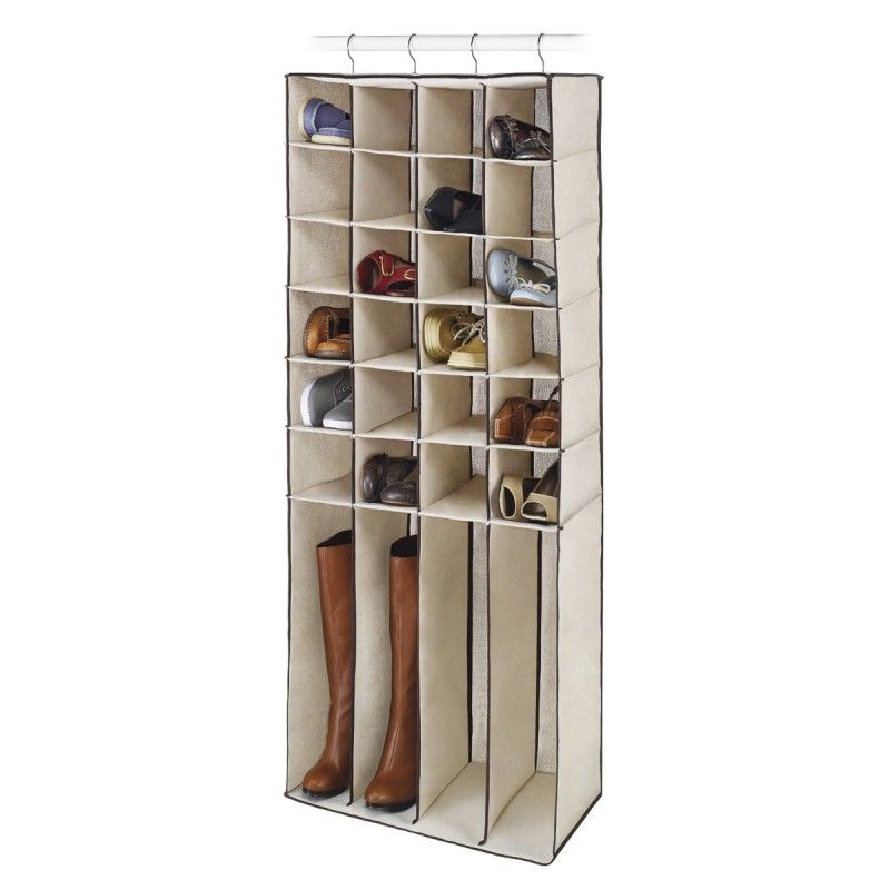 Whitmor 28-Pocket Hanging Closet Organizer for Shoes & Boots
