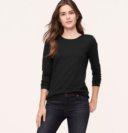 Need to stock up on these lightweight Layering Tees in smalls from the Loft next time they have a sale. So comfy!
